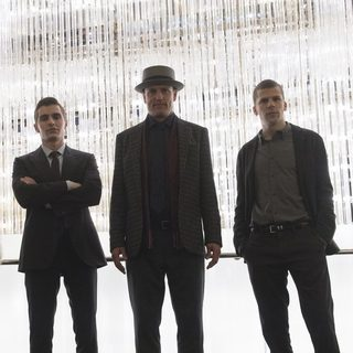 Dave Franco, Mark Ruffalo and Jesse Eisenberg in Lionsgate Films' Now You See Me 2 (2016)