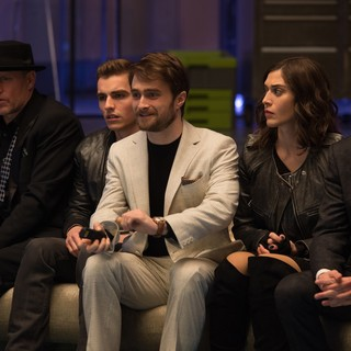 Woody Harrelson, Dave Franco, Daniel Radcliffe, Lizzy Caplan and Jesse Eisenberg in Lionsgate Films' Now You See Me 2 (2016)