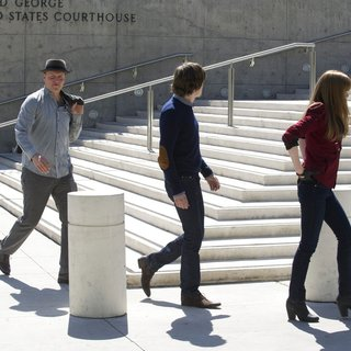 Dave Franco, Woody Harrelson, Jesse Eisenberg and Isla Fisher in Summit Entertainment's Now You See Me (2013) - now-you-see-me-still08