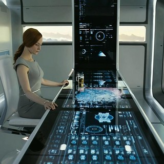 Andrea Riseborough stars as Victoria in Universal Pictures' Oblivion (2013)