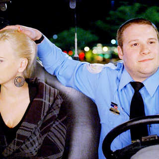 Anna Faris stars as Brandi and Seth Rogen stars as Ronnie Barnhardt in Warner Bros. Pictures' Observe and Report (2009)