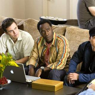 Casey Affleck, Don Cheadle and Shaobo Qin in Warner Bros' Ocean's Thirteen (2007) - ocean13_05