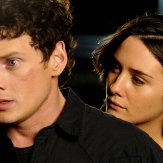 Anton Yelchin stars as Odd Thomas and Ashley Sommers stars as Penny Kalisto in Image Entertainment's Odd Thomas (2014) - odd-thomas05