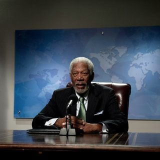 Morgan Freeman stars as Speaker Trumbull in FilmDistrict's Olympus Has Fallen (2013)