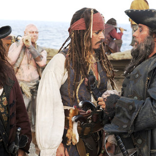 Penelope Cruz stars as Angelica and Johnny Depp stars as Jack Sparrow in Walt Disney Pictures' Pirates of the Caribbean: On Stranger Tides (2011)