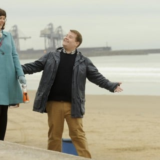 Alexandra Roach stars as Julz and James Corden stars as Paul in The Weinstein Company's One Chance (2014)