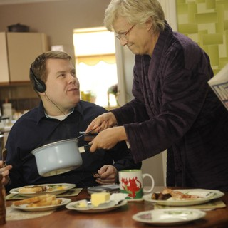 James Corden stars as Paul and Julie Walters stars as Yvonne in The Weinstein Company's One Chance (2014) - one-chance03