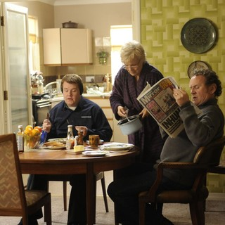 James Corden, Julie Walters and Colm Meaney in The Weinstein Company's One Chance (2014) - one-chance04