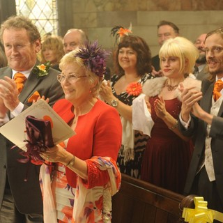 Colm Meaney stars as Roland and Julie Walters stars as Yvonne in The Weinstein Company's One Chance (2014) - one-chance06