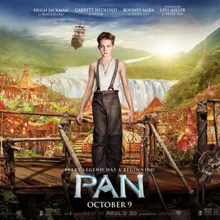 Poster of Warner Bros. Pictures' Pan (2015)