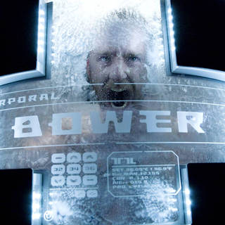 Ben Foster stars as Bower in Overture Films' Pandorum (2009). Photo credit by Jay Maidment.