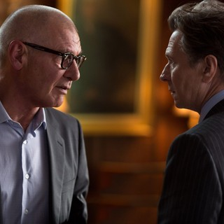 Harrison Ford stars as Jock Goddard and Gary Oldman stars as Nicholas Wyatt in Relativity Media's Paranoia (2013)