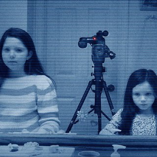 Chloe Csengery stars as Young Katie and Jessica Tyler Brown stars as Young Kristi Rey in Paramount Pictures' Paranormal Activity 3 (2011)