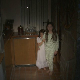 Jessica Tyler Brown stars as Young Kristi Rey and Chloe Csengery stars as Young Katie in Paramount Pictures' Paranormal Activity 3 (2011)