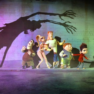 Alvin, Courtney, Mitch, Neil and Norman from Focus Features' ParaNorman (2012)
