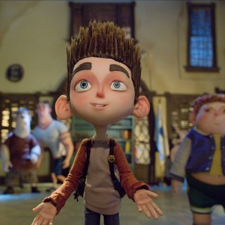 Courtney, Alvin, Mitch, Norman and Neil from Focus Features' ParaNorman (2012)