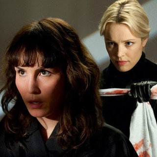 Noomi Rapace stars as Isabelle James and Rachel McAdams stars as Christine in Entertainment One's Passion (2013)