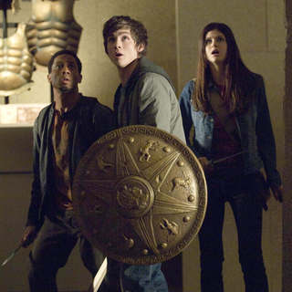 Brandon T. Jackson, Logan Lerman and Alexandra Daddario in Fox 2000 Pictures' Percy Jackson & the Olympians: The Lightning Thief (2010) - percy_jackson06