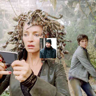 Uma Thurman stars as Medusa and Logan Lerman stars as Percy Jackson in Fox 2000 Pictures' Percy Jackson & the Olympians: The Lightning Thief (2010) - percy_jackson29