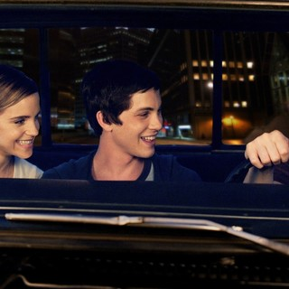 Emma Watson, Logan Lerman and Ezra Miller in Summit Entertainment's The Perks of Being a Wallflower (2012) - perk-of-being-wallflower-img02