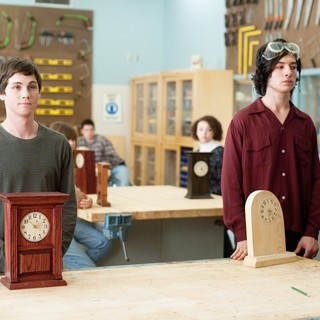 Logan Lerman stars as Charlie and Ezra Miller stars as Patrick in Summit Entertainment's The Perks of Being a Wallflower (2012) - perk-of-being-wallflower-img04