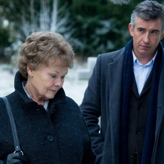 Philomena - Judi Dench stars as Philomena Lee and Steve Coogan stars as Martin Sixsmith in The Weinstein Company's Philomena (2013)
