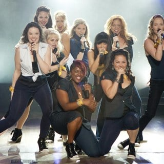 Rebel Wilson, Anna Kendrick and Hana Mae Lee in Universal Pictures' Pitch Perfect (2012)