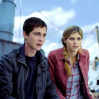 Logan Lerman stars as Percy Jackson and Alexandra Daddario stars as Annabeth Chase in The 20th Century Fox's Percy Jackson: Sea of Monsters (2013) - pj-sea-of-monsters01