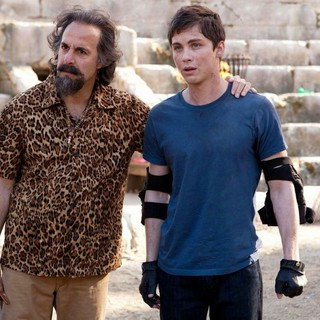 Stanley Tucci stars as Dionysus and  Logan Lerman stars as Percy Jackson in The 20th Century Fox's Percy Jackson: Sea of Monsters (2013) - pj-sea-of-monsters02