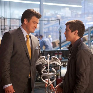 Sean Bean stars as Zeus and Logan Lerman stars as Percy Jackson in The 20th Century Fox's Percy Jackson: Sea of Monsters (2013) - pj-sea-of-monsters06