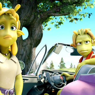 Planet 51 - A scene from TriStar Pictures' Planet 51 (2009)