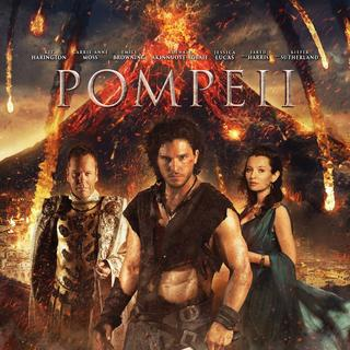 Poster of TriStar Pictures' Pompeii (2014)