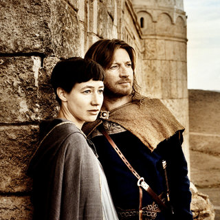 Johanna Wokalek stars as Johanna von Ingelheim and David Wenham stars as Gerold in Summit Entertainment's Pope Joan (2009)