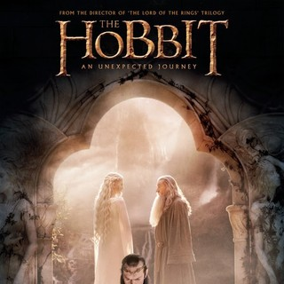 Poster of Warner Bros. Pictures' The Hobbit: An Unexpected Journey (2012) - poster-hobbit-journey08