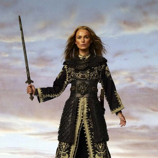 Pirates of the Caribbean: At Worlds End - Keira Knightley as Elizabeth Swann in Pirates of the Caribbean Promo Photoshoot