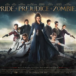 Poster of Screen Gems' Pride and Prejudice and Zombies (2016) - pride-prejudice-zombies-pstr04