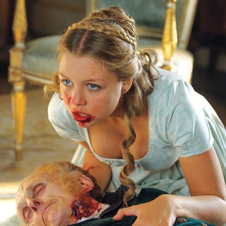 Jess Radomska stars as Annabelle Netherfield in Screen Gems' Pride and Prejudice and Zombies (2016)