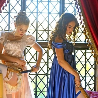 Bella Heathcote and Lily James in Screen Gems' Pride and Prejudice and Zombies (2016) - pride-prejudice-zombies04