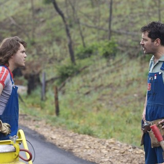 Emile Hirsch stars as Lance and Paul Rudd stars as Alvin in Magnolia Pictures' Prince Avalanche (2013) - prince-avalanche02