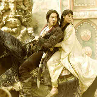 Jake Gyllenhaal stars as Prince Dastan and Gemma Arterton stars as Tamina in Walt Disney Pictures' Prince of Persia: Sands of Time (2010)