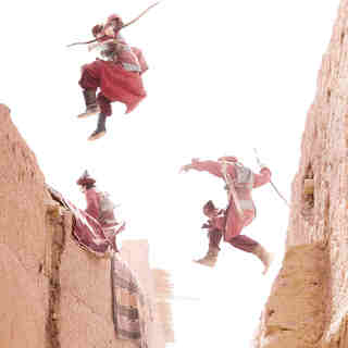 A scene from Walt Disney Pictures' Prince of Persia: Sands of Time (2010)