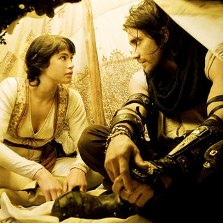 Gemma Arterton stars as Tamina and Jake Gyllenhaal stars as Prince Dastanin in Walt Disney Pictures' Prince of Persia: Sands of Time (2010) - prince_of_persia39