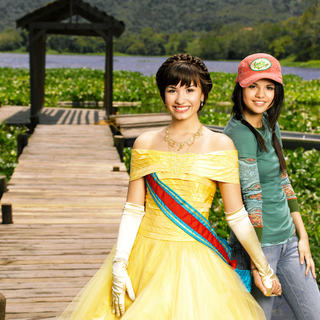 Demi Lovato stars as Rosalinda / Rosie and Selena Gomez stars as Carter Mason / Princess Mason in Disney Channel's Princess Protection Program (2009)