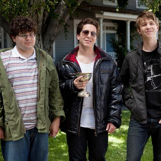 Jonathan Daniel Brown, Oliver Cooper and Thomas Mann in Warner Bros. Pictures' Project X (2012)