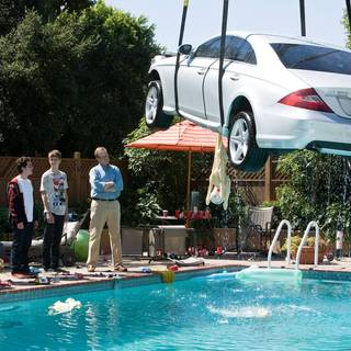 Jonathan Daniel Brown, Oliver Cooper, Thomas Mann and Peter Mackenzie in Warner Bros. Pictures' Project X (2012)