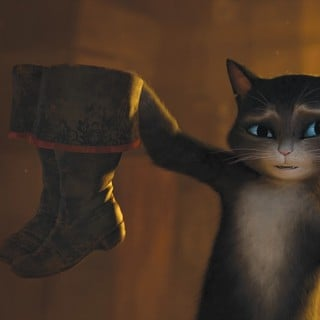 A scene from DreamWorks SKG's Puss in Boots (2011)