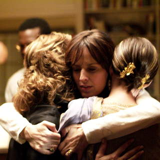 Debra Winger, Rosemarie DeWitt and Anne Hathaway in Sony Pictures Classics' Rachel Getting Married (2008). Photo by Bob Vergara. - rachel_getting_married15