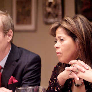 Bill Irwin as Paul and Anna Deavere Smith as Carol in Sony Pictures Classics' Rachel Getting Married (2008). Photo by Bob Vergara.