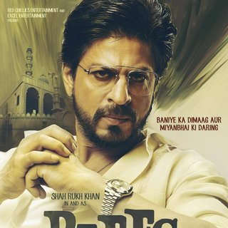 Poster of Red Chillies Entertainment's Raees (2017) - raees-poster02