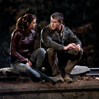 Adrianne Palicki stars as Toni and Chris Hemsworth stars as Jed Eckert in FilmDistrict's Red Dawn (2012)